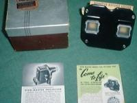 """ORIGINAL Vintage VIEW-MASTER made by SAWYER'S MODEL """"C"""""""