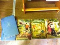 1940's Vintage Books, Maida's Little Series. 5