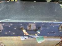 Rustic Looking Suitcase from the 1940's or earlier!