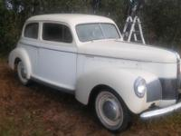 1940 studebaker has been untouch factor motor and