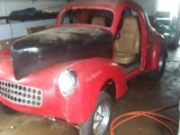 1940 Willys Coupe (OH) -$20,000 Fiberglass willys coupe