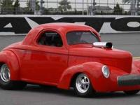 1940 Willys Custom. 1970 LS6 468 Richard Childress