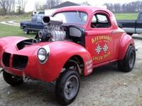 1940 WILLYS ORIGINAL STEEL BODY ... DOORS, FENDERS,