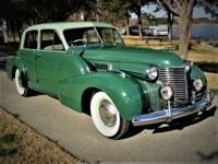 1940 Cadillac Series 60 Fleetwood V6 Special.  Runs and