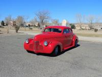 1940 Chevrolet Bussiness Coupe Street Rod.  Up for sale