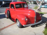 1940 Ford Pick up with New 350cc V8 Engine.  This