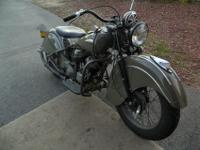 1940 Indian Sport Scout. Shown below are the specifics.