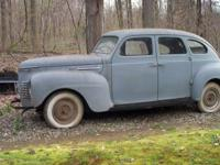 ***PRICE REDUCED***This is a very solid 1940 Plymouth.