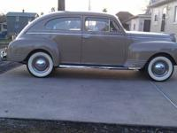 1940 Plymouth completely original survivor, 2 door,