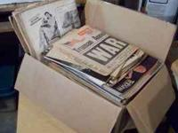 This a box load of LIFE magazines from the 1940s and