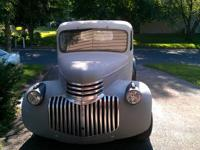 1941-46 3/4 ton truck, has been mildly customized,