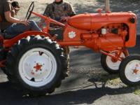 THIS TRACTOR IS ABOUT 90 PERCENT RESTORED. IT NEEDS A
