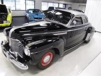 1941 BUICK SUPER 8 SPECIAL 2 DOOR COUPE - BLACK/SILVER