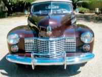 Year: 1941 Make: Cadillac Model: 6267 Mileage: 13,758