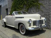 1941 Cadillac 2 door Convertible. Very collectible and