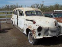 1941 Cadillac Hearse, could use for a parts cars, Would