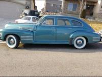 This is a 1941 Cadillac Antique! 62 series. Watch the