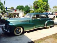 1941 Cadillac Series 60 Fleetwood Car runs Needs some