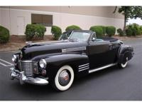 We are very pleased to offer our 1941 Cadillac Series