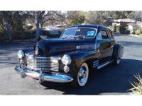 Cadillac 62 Series Club Coupe. Only 1700 Produced! 1941
