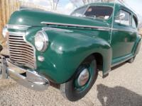 1941 Chevy Master deluxe 2 door coupe runs and drive