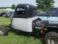 1941 Chevrolet Pickup Rat Rod race car project, lots of
