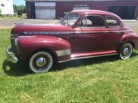1941 Chevrolet Special Deluxe Business Coupe (NY) -