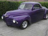 1941 Dodge Luxury Liner Coupe Custom 1941 Dodge Luxury