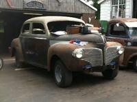I have a very rare 1941 dodge luxery liner 4 door