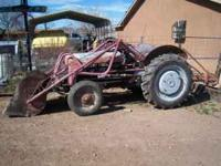 selling 1941 ford 9N tractor with hydralic front end