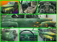 1941 Ford Sedan Custom, 351 Windsor, FMX transmission,
