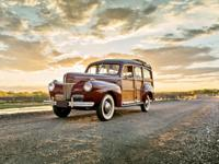 1941 Ford Super Deluxe Woodie Woody Wagon Recently