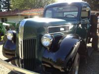 1941 Ford truck, rare 1 ton. In great running shape.