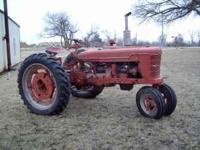 1941 farmall h for sale nearly new tires on front and