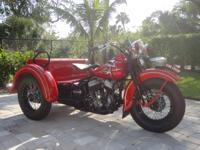 This is a 1941 Harley Davidson Servi Car which