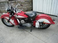 1941 Indian Sport Scout - Matching Numbers!The cases