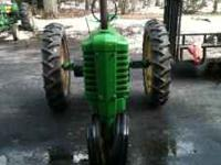 1941 John Deere b, complete, Minor surface rust, tin is