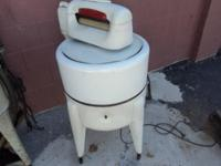 1941 K Model Maytag Washer Serial # 368972F Stamped On