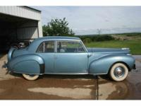 Year : 1941 Make : Lincoln Model : Continental Exterior