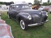 1941 Lincoln Continental... She needs a motor and
