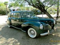 Year: 1941 Make: Lincoln Model: Continental Mileage: