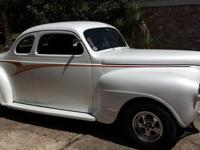 This is a 1941 business coupe that originally had a