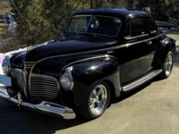 1941 Plymouth Business Coupe. Has been fully restored