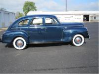 1941 Plymouth Deluxe 4 Door Sedan with original like