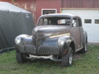 1941 Studebaker body mostly complete. Rat rod or hot