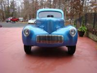 1941 Willy's Americar CoupeThis is a 41 Willy's Gasser,