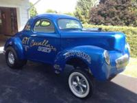 1941 Willys 441 in Excellent Condition Numerous award