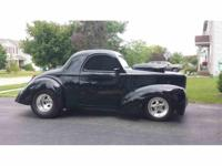 Year : 1941 Make : Willys Model : Coupe Exterior Color