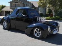 1941 Willys Coupe Chrysler. Custom Street Rod 1941