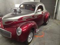 1941 Willys Custom Coupe. Chassis, Frame Custom built